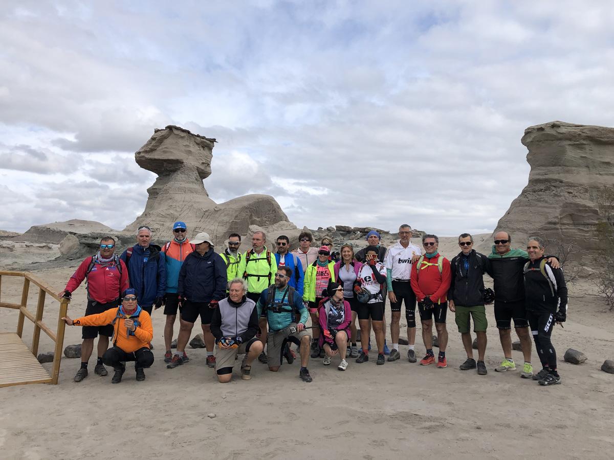 1 week MTB tour to the canyon of Talampaya, Argentina