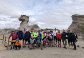 Argentina bike tour in the canyon of Talampaya
