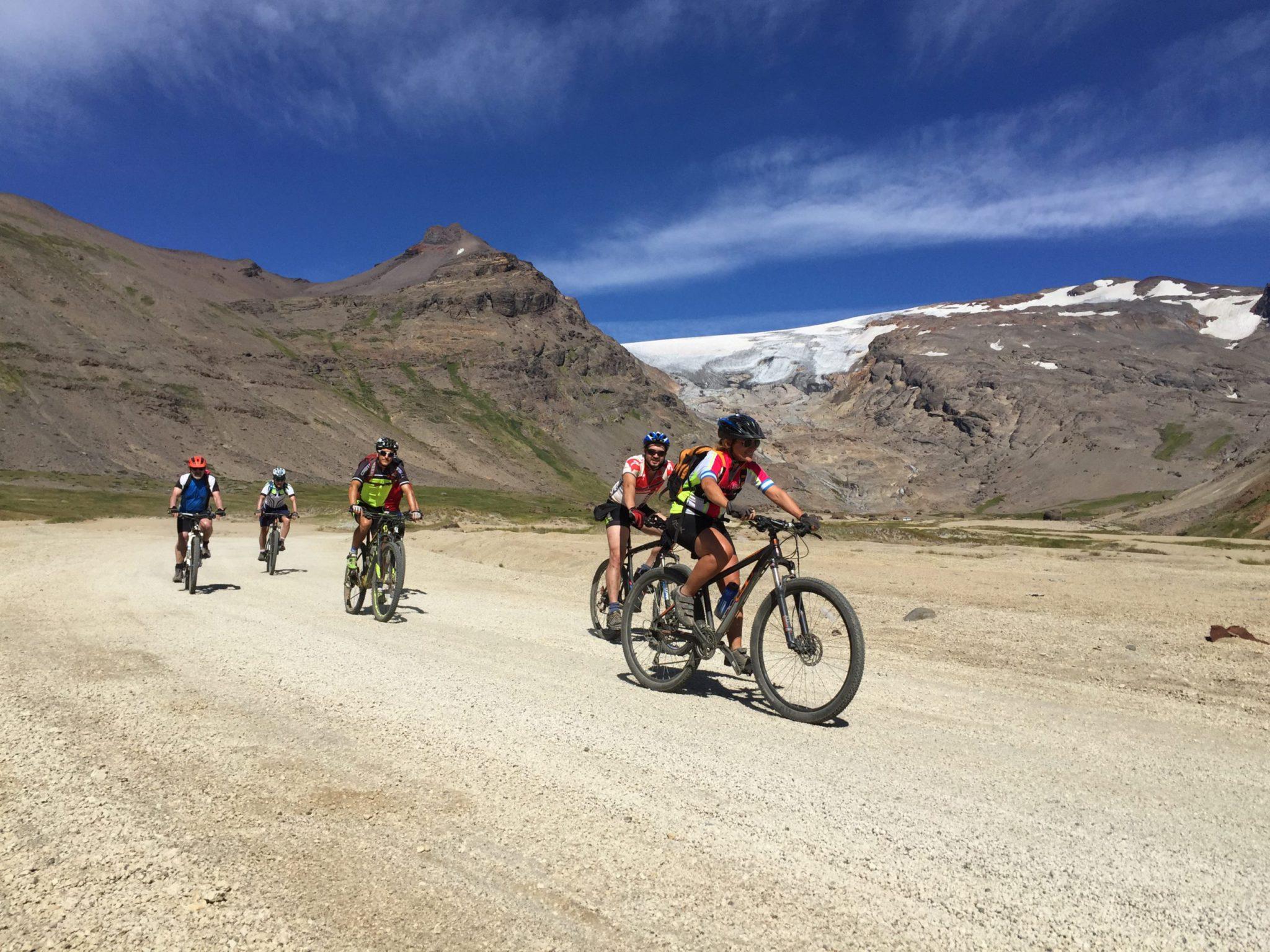 7 day cross Andes MTB trip through Vergara Pass, Argentina