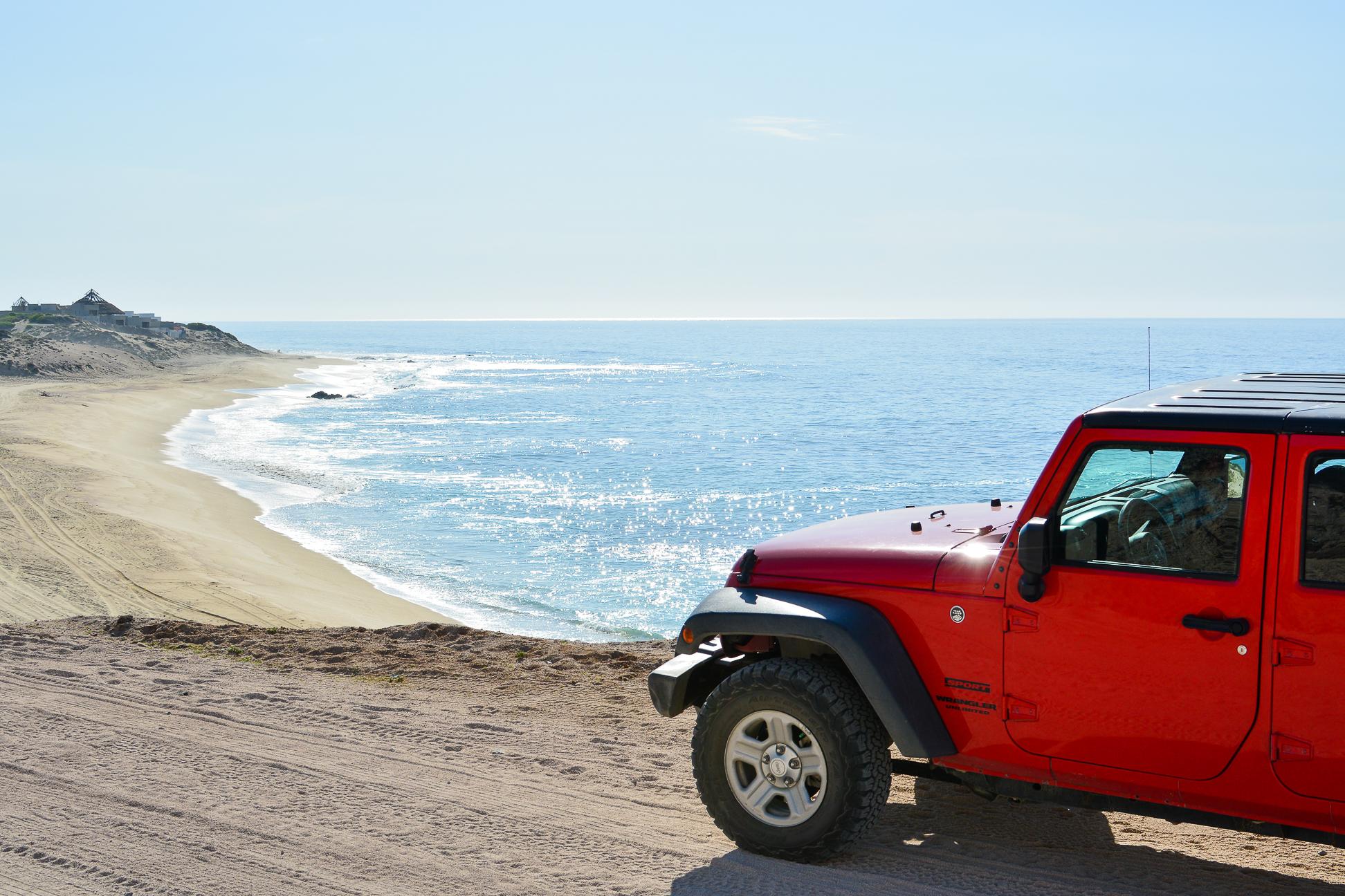 Private Los Cabos jeep tour & snorkel Cabo Pulmo coral reef