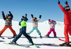 learn to ski is in Arinsal Andorra is fantastic for a ski holiday for beginners.
