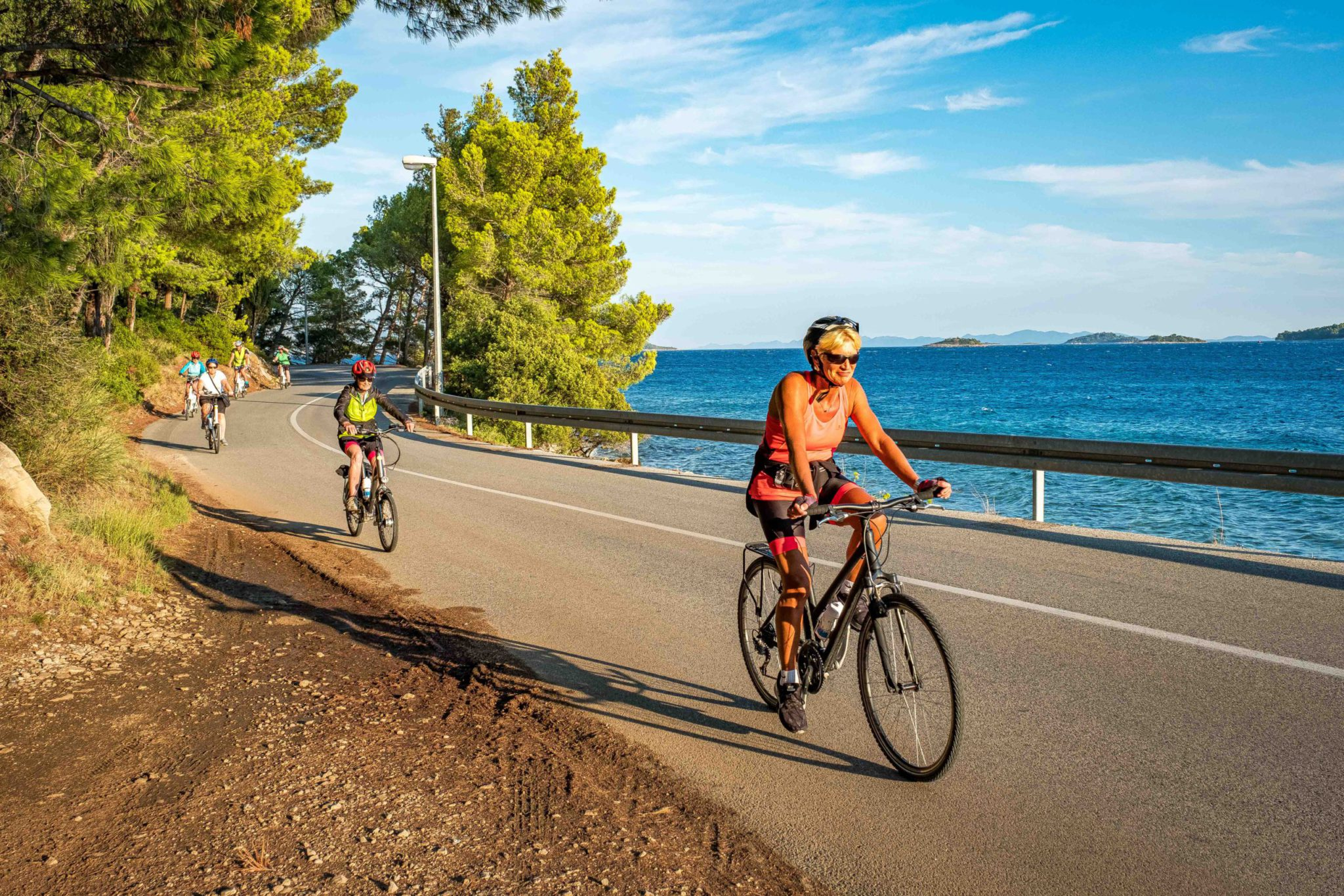 Croatia cycling holiday: Sailing Split southern route