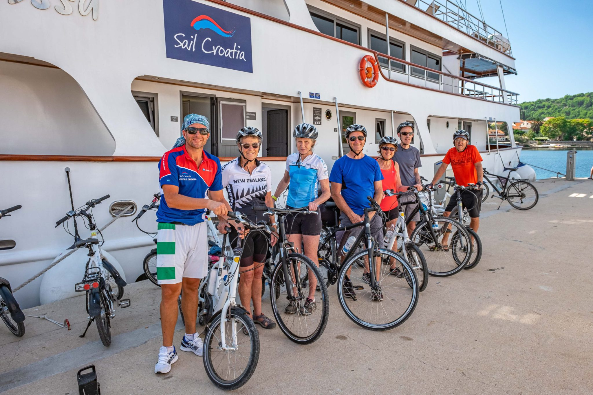 Sailing and cycling holiday in Croatia: Split to Dubrovnik