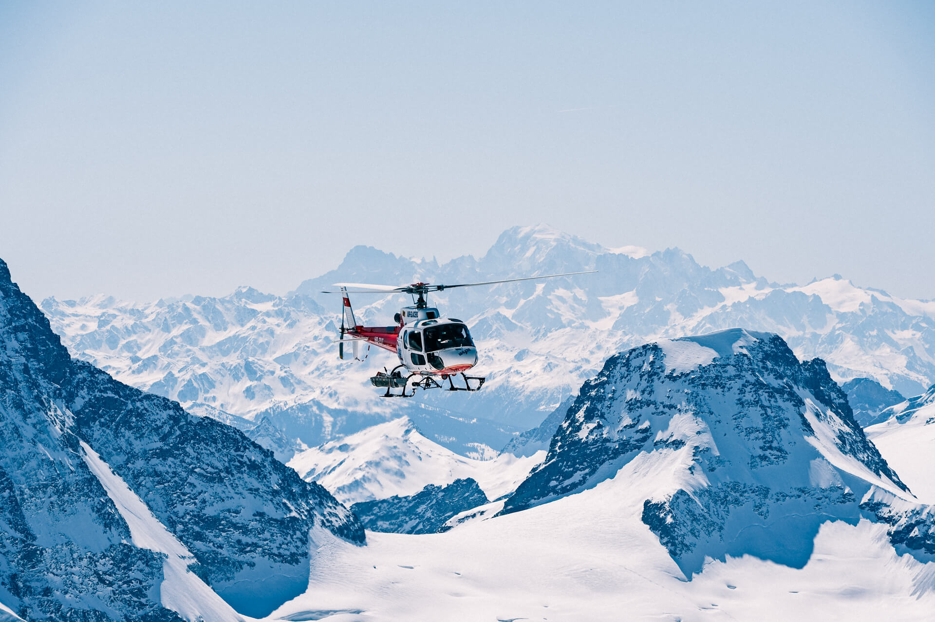 20 min Switzerland Scenic Helicopter Flight over the Jungfrau Region