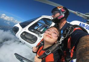 tandem skydive in Interlaken