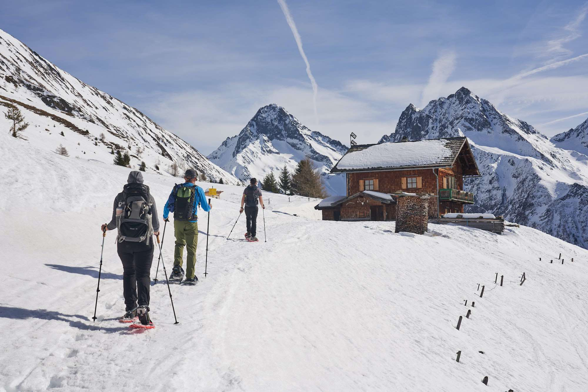 Guided snowshoeing holiday in Austria with daily yoga