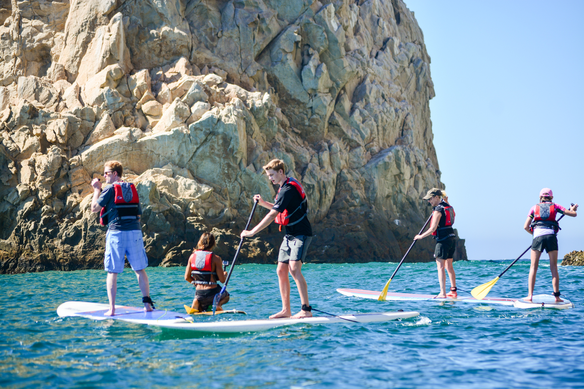 Mexico SUP experience in Cabo: Paddleboard & snorkel El Arco