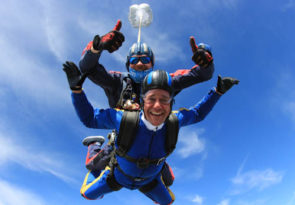Nottingham Tandem skydive experience