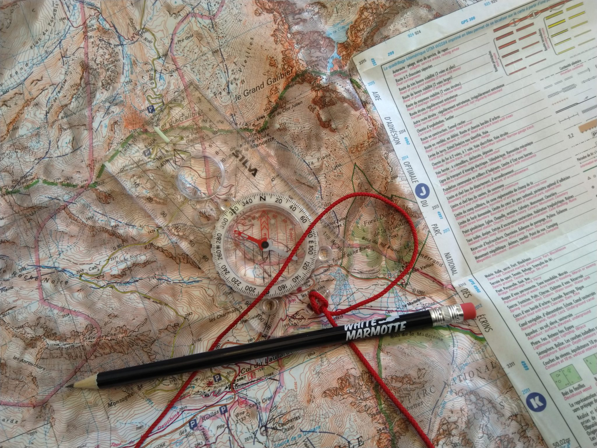 Two-day intermediate navigation course French Alps: NNAS Silver Award