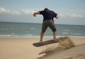 South Africa Sandboarding