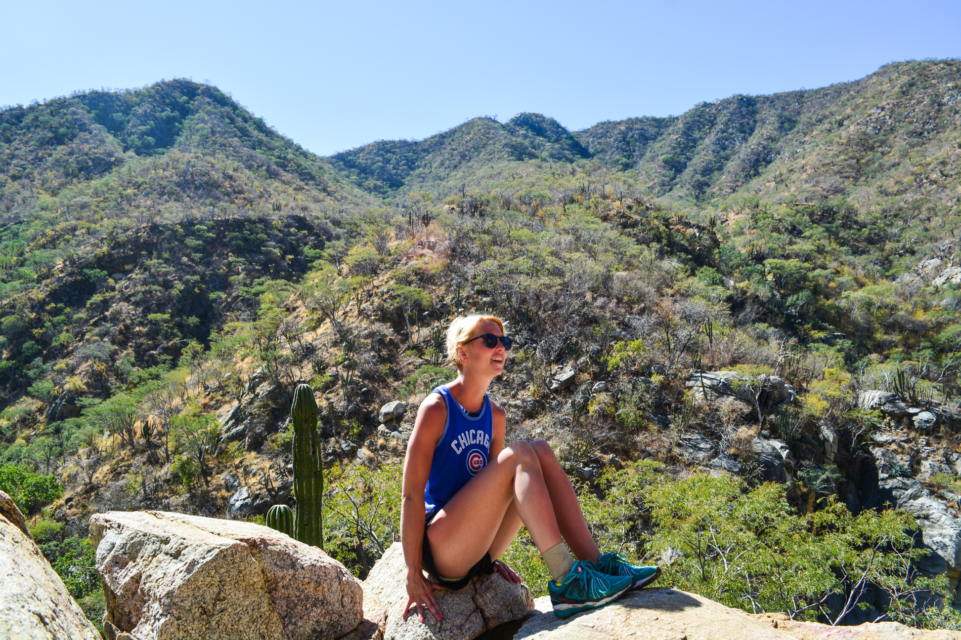 Fox Canyon hiking in Cabo: Guided Baja Desert hike to oasis