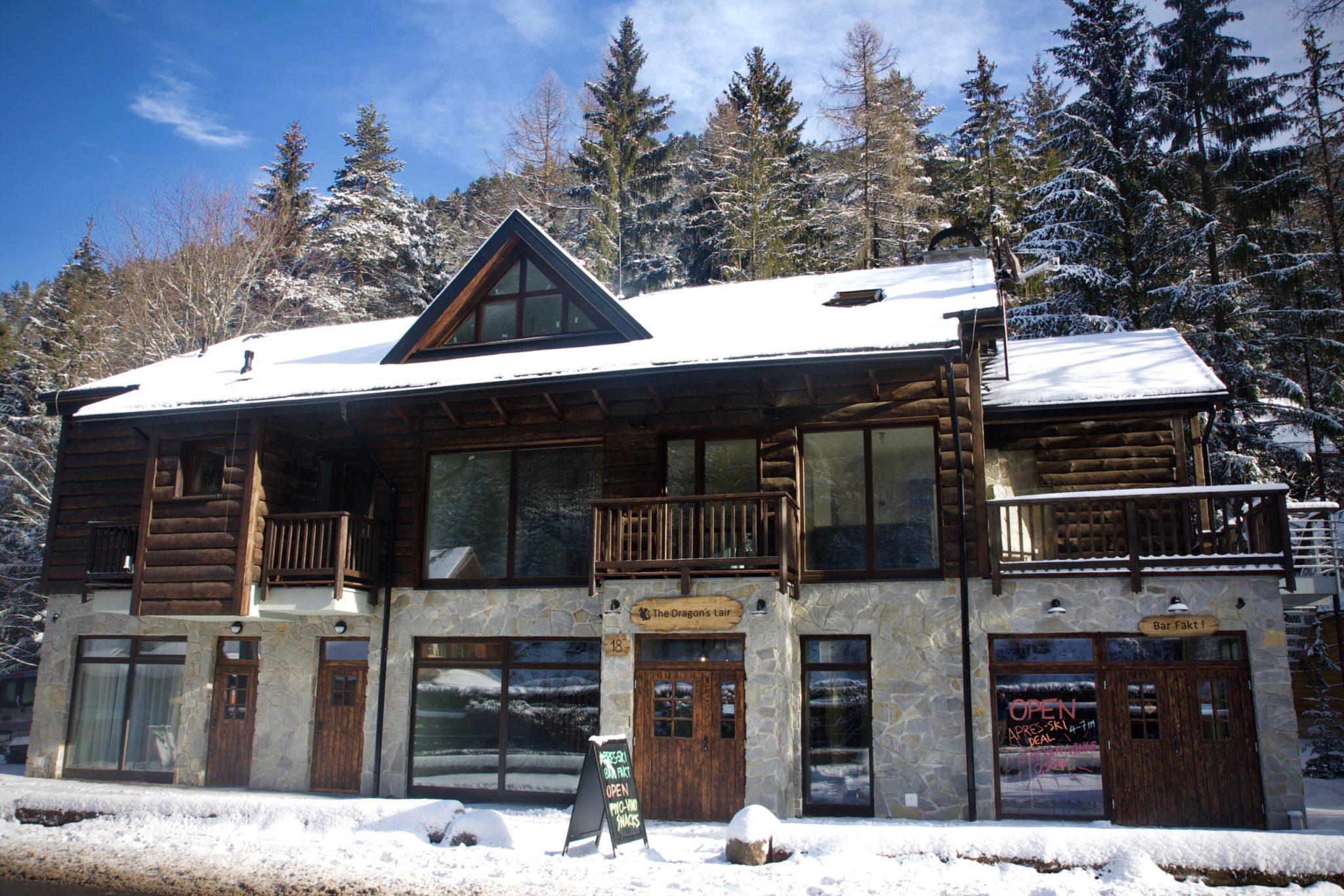 The Dragon's Lair Ski Chalet: Jasna, Slovakia