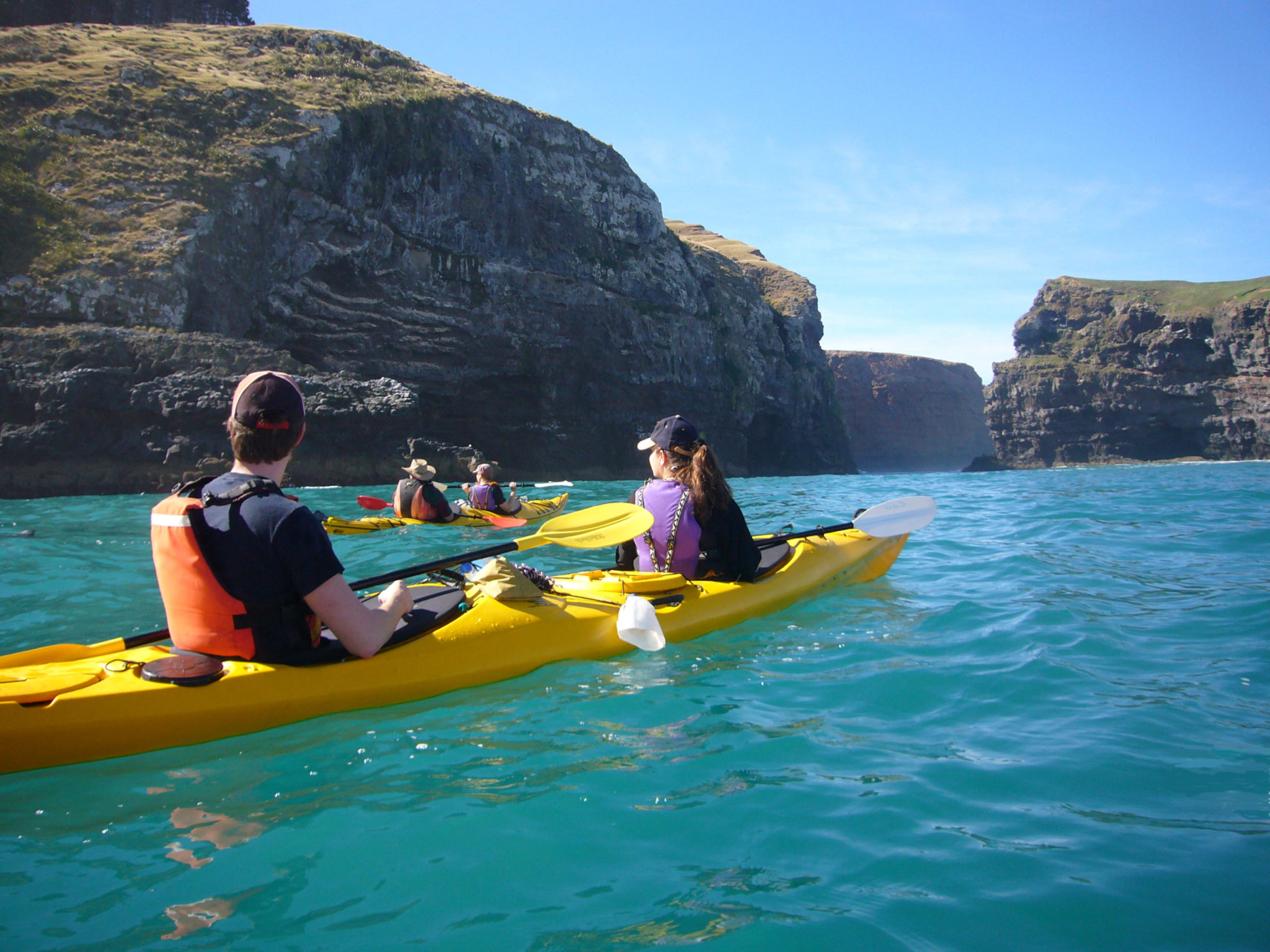 Banks Peninsula 4×4 scenic sea kayaking safari in New Zealand