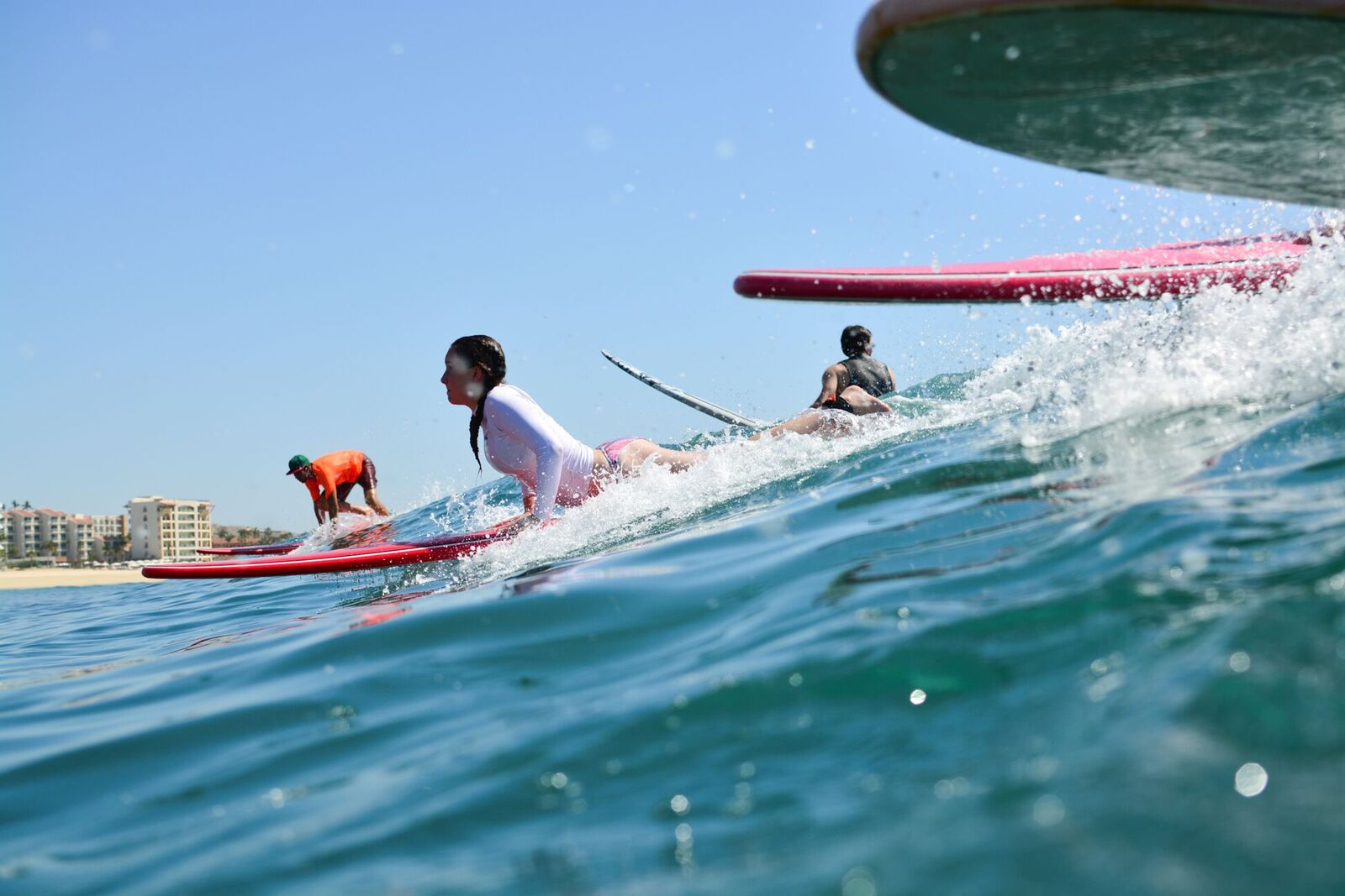 Private Los Cabos Surfing Lesson at Costa Azul in Mexico (summer)