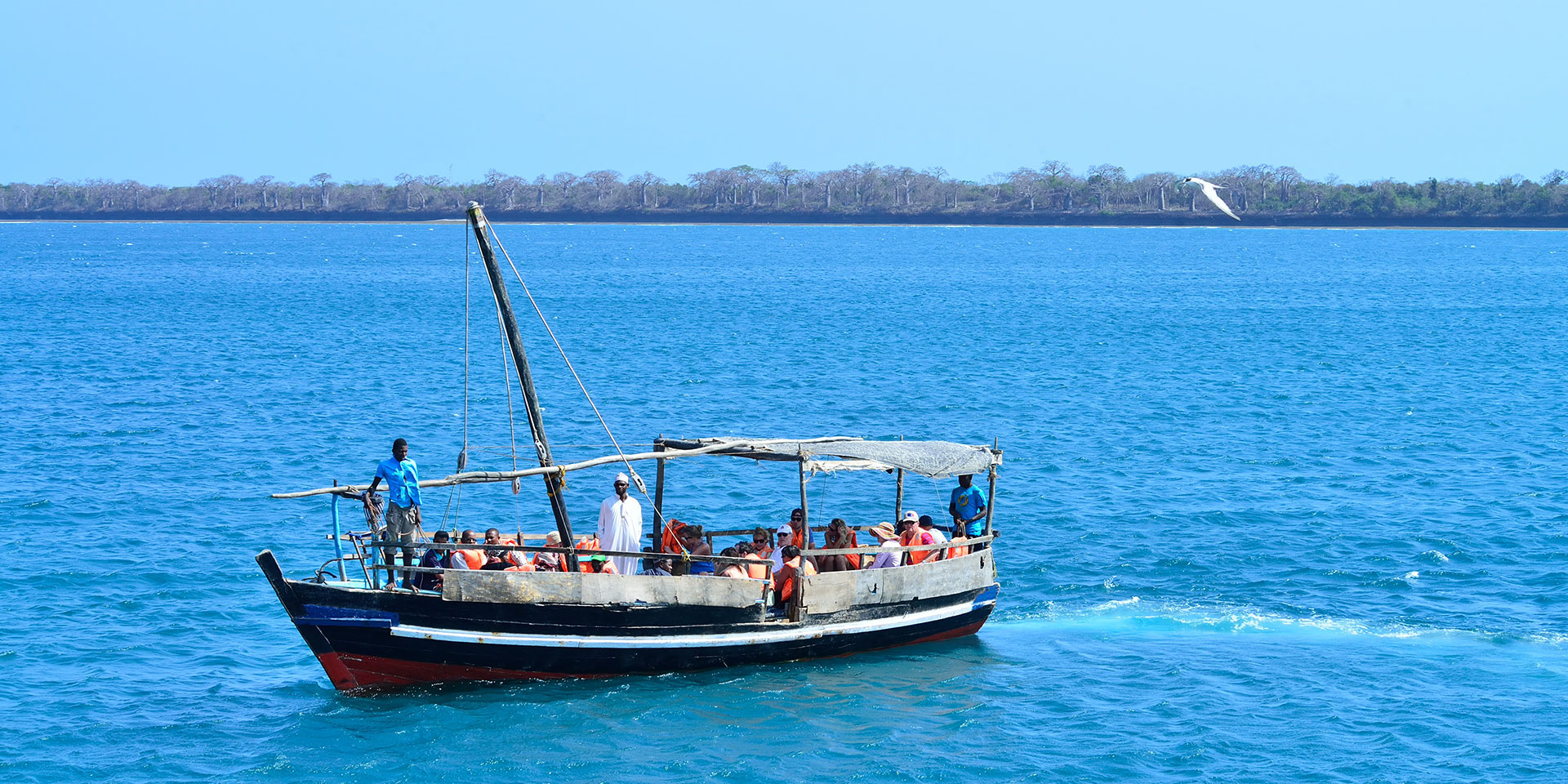 1 day Wasini Island Snorkling in Kenya with Seafood Lunch