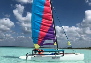 Bacalar Lagoon of 7 colours