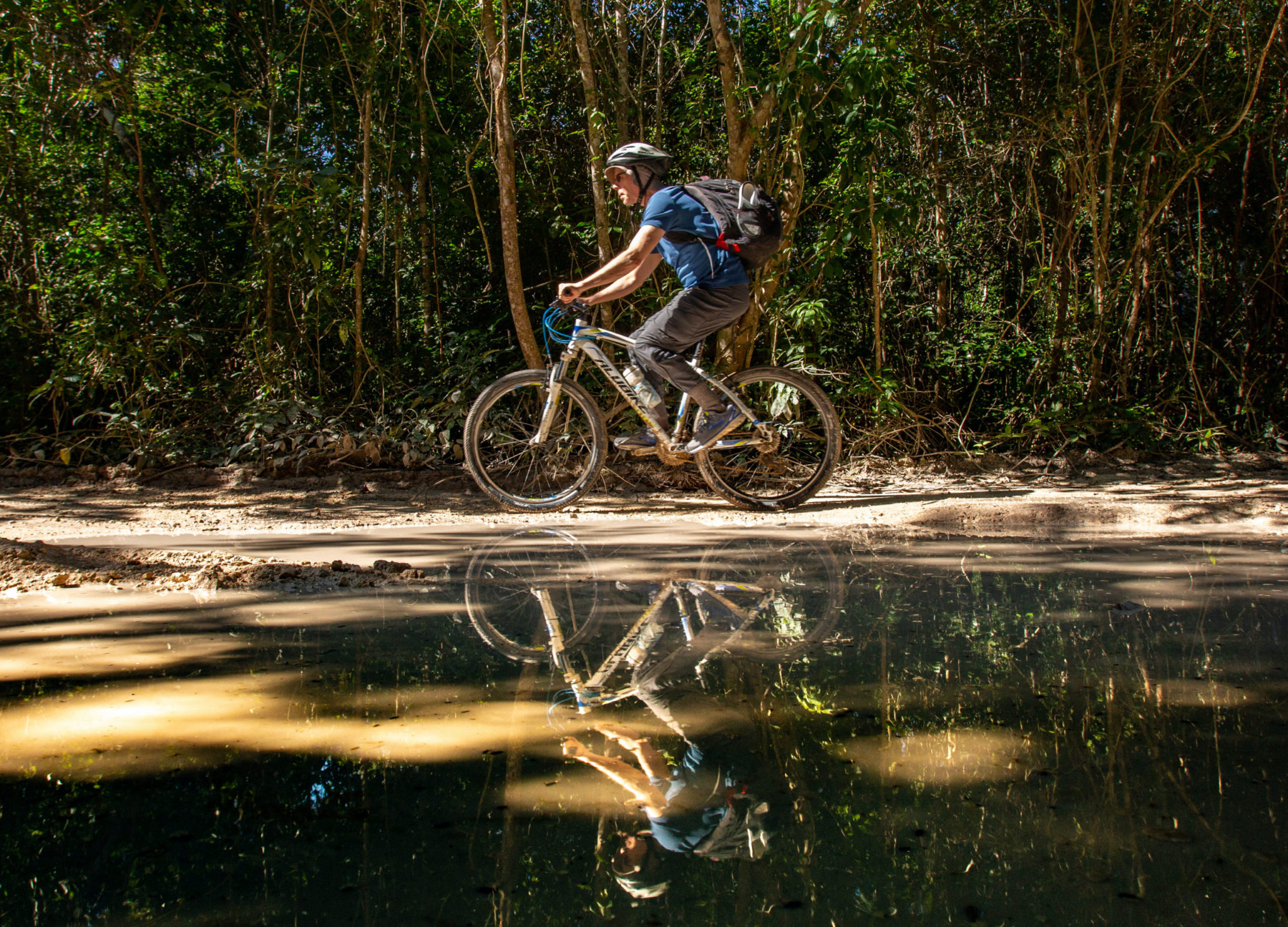 Cenote Trail Bike Tour – Mexico Adventure above & below the jungle