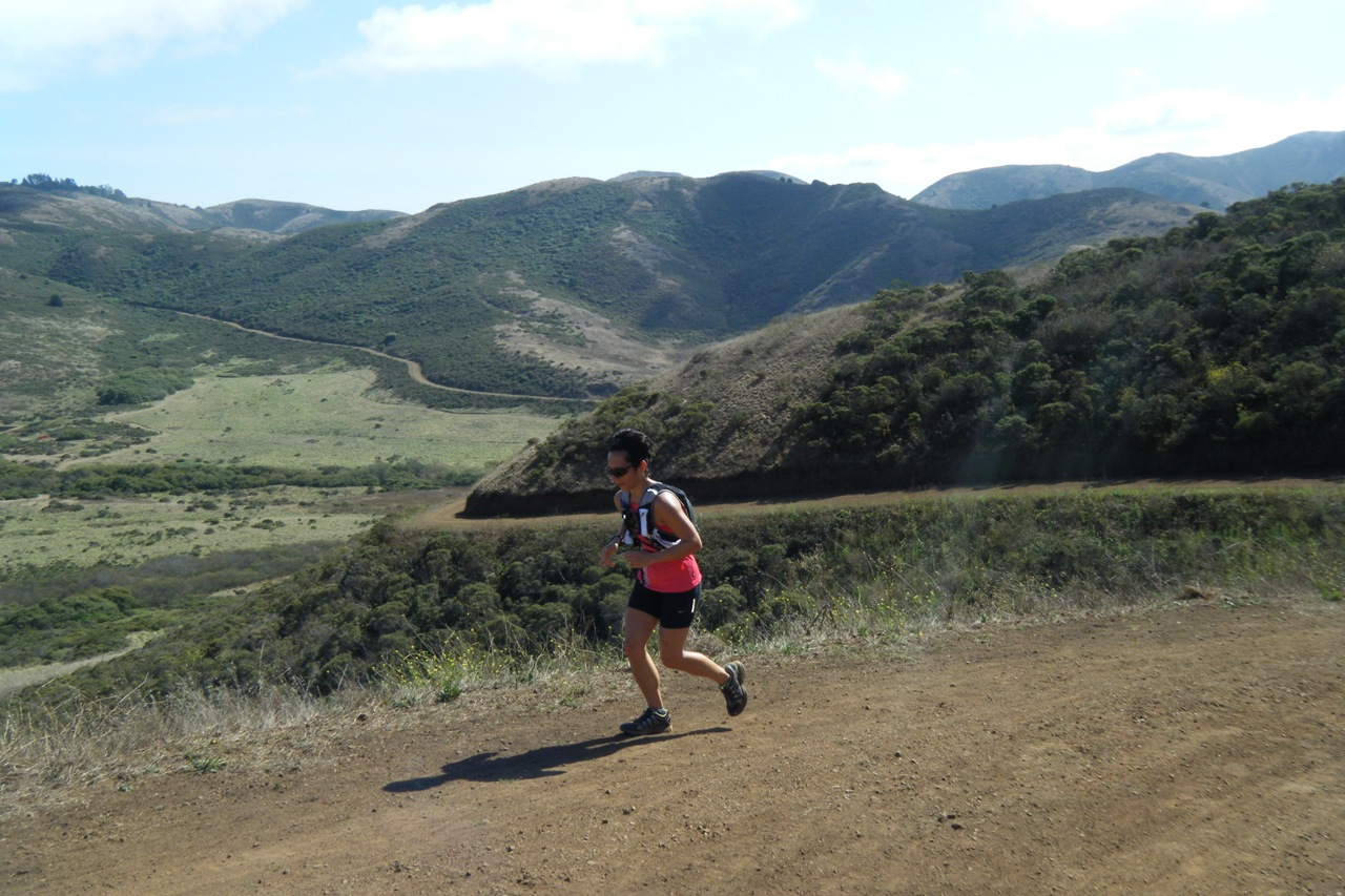 Sausalito to Point Reyes trail running holiday in California, USA
