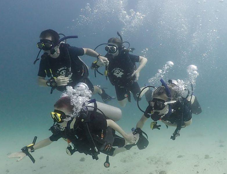 Koh Lipe PADI Open Water: Beginner scuba dive course in Thailand
