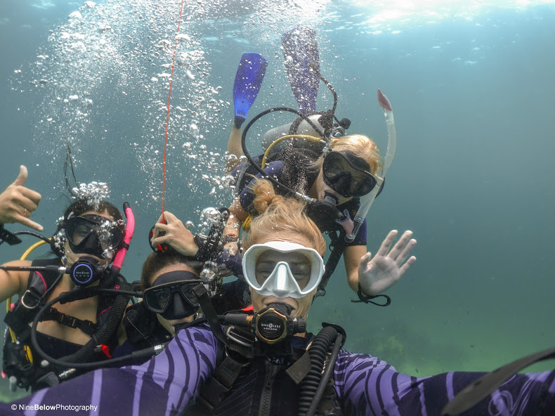 Thailand PADI Open Water course in Koh Lipe with eLearning