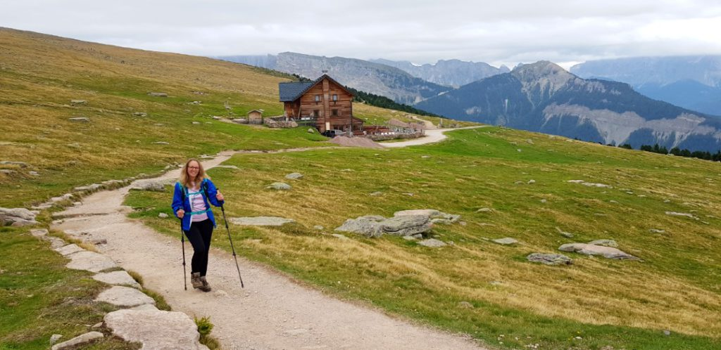 Luxury hiking holiday in the Dolomites above Ortisei