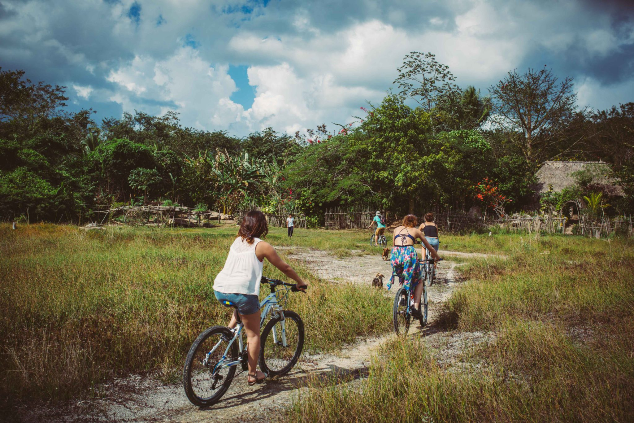 Mayan Backroads Bike Tour – Mexico Biking Adventure in the jungle
