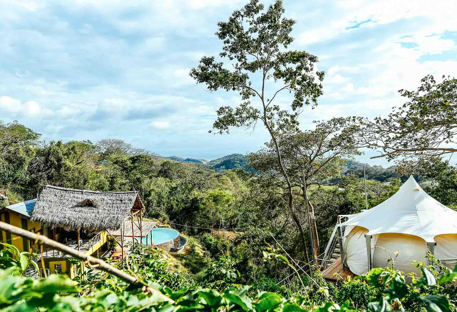 8 day Playa Maderas glamping surf and yoga camp in Nicaragua