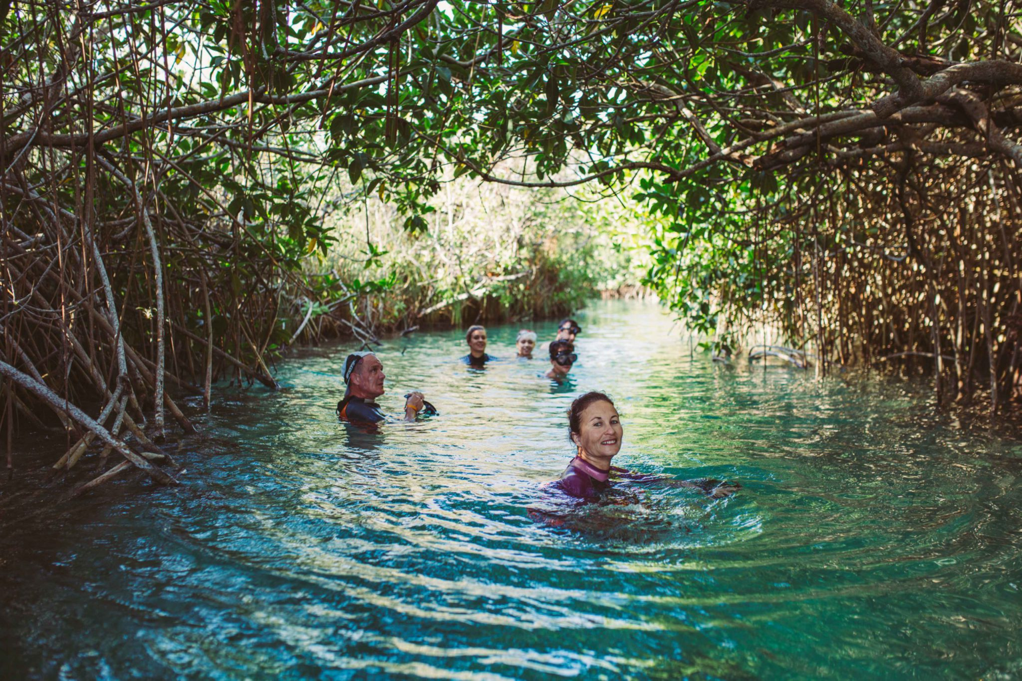 Sian Kaan Muyil Lazy river and walk Adventure in Mexico