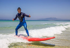 surfing classes for beginners in Tarifa, Spain and Morocco