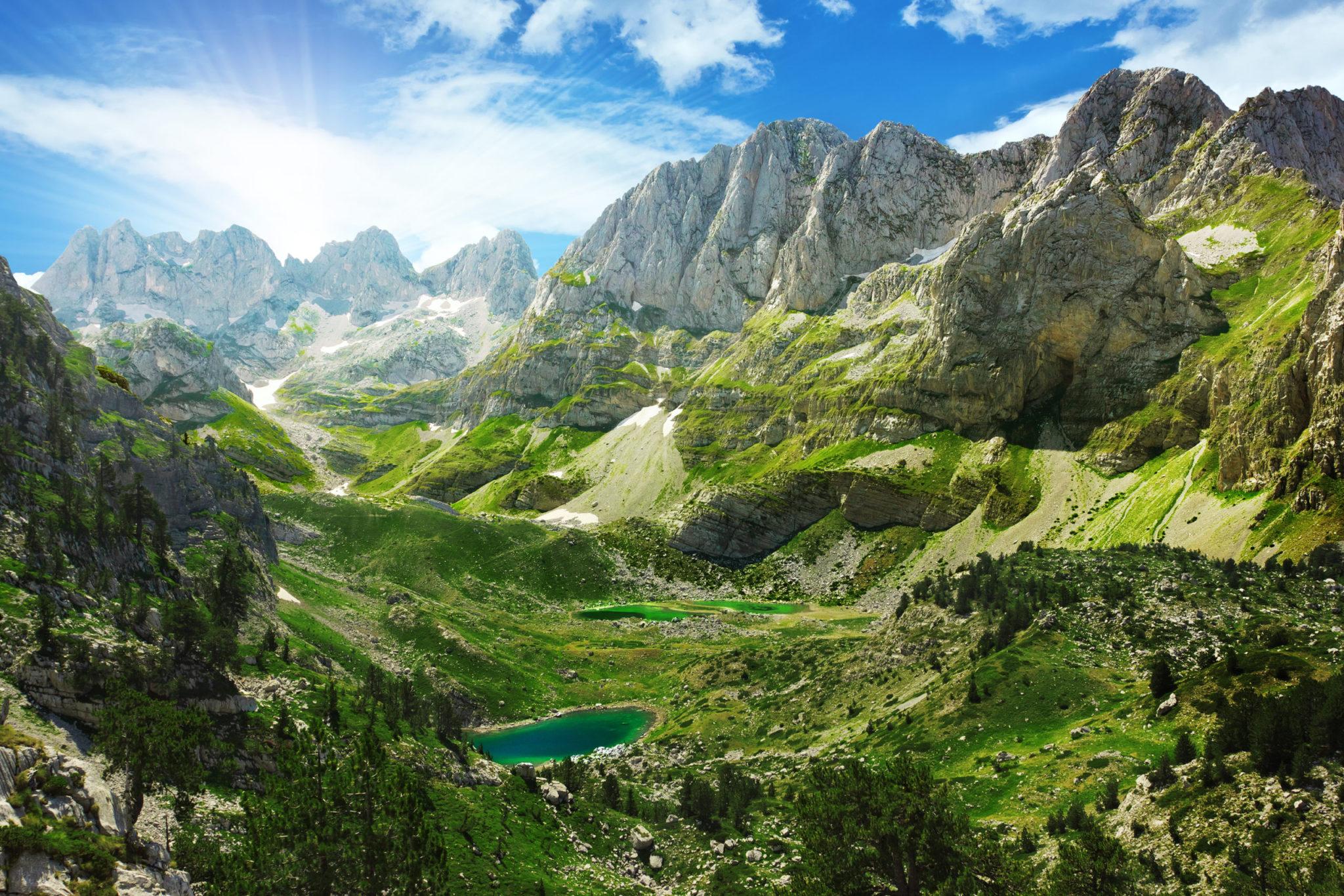 Albania hiking holiday: Trails of Albanian Alps