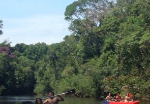 Amazon Kayaking in Brazil on the Urubu or Jatapu rivers