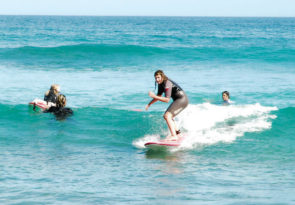 Why not learn to surf in Mexico? Our private surfing tuition at Costa Azul, Los Cabos, is perfect for kids as well as adults