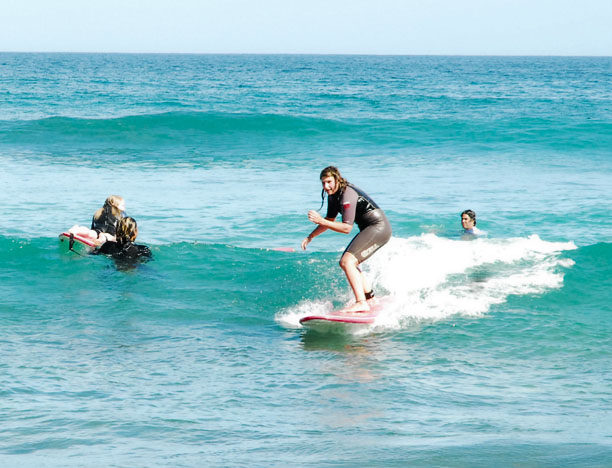 Private surfing tuition at Costa Azul: Learn to Surf in Mexico