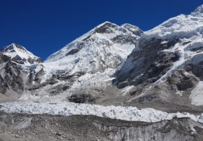 Everest trek and helicopter trip