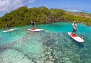 Turks and Caircos Islands eco paddling