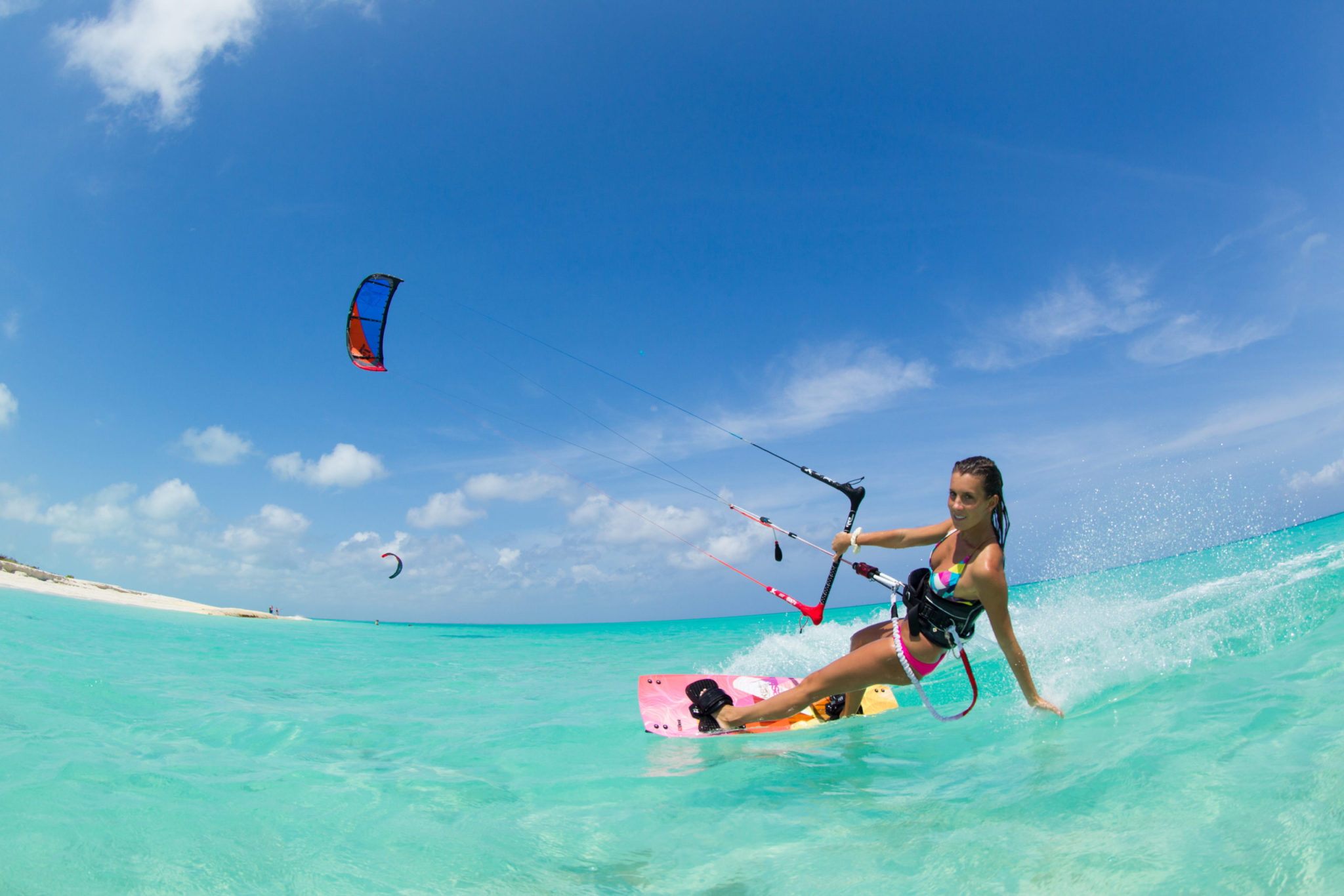 Private Kiteboarding Course: Turks and Caicos Islands Kiteboarding