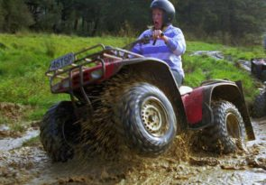 on yer bike 2 hour guided Greymouth quad biking tour in New Zealand