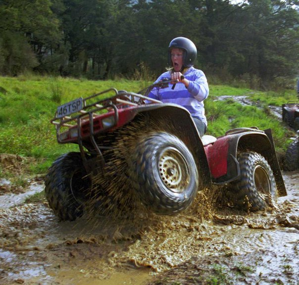 2 hour guided Greymouth quad biking tour in New Zealand
