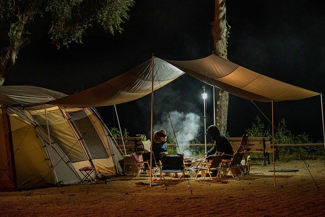 Beginner camping essentials list Guide to camping gear for first-timers Pixabay royalty free image