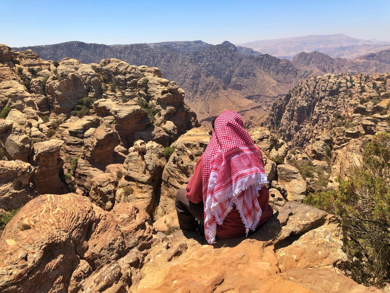 Jordan trekking holiday: Dana to Petra trek plus Wadi Rum