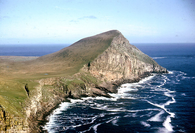 Noup in Foula in Scotland Shetland islands wikimedia CC image by Dr Julian Paren