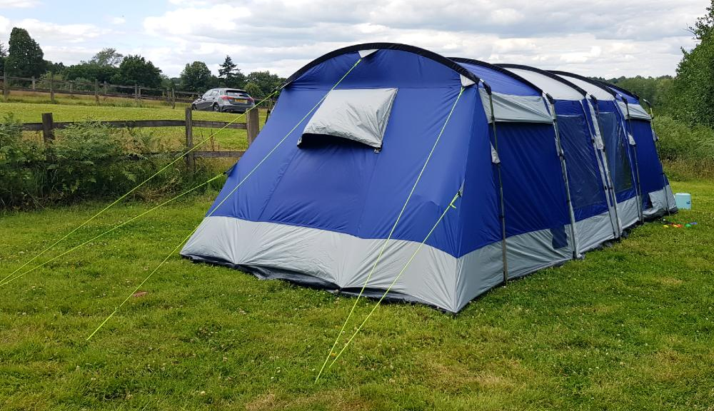 Skandika Montana 8 sleeper review in East Grinstead