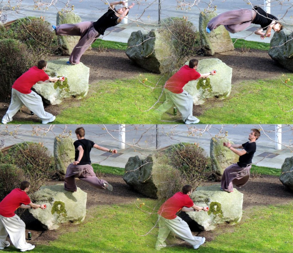 Extreme sports comparison Parkour vs Freerunning are they the same PHhere royalty free image