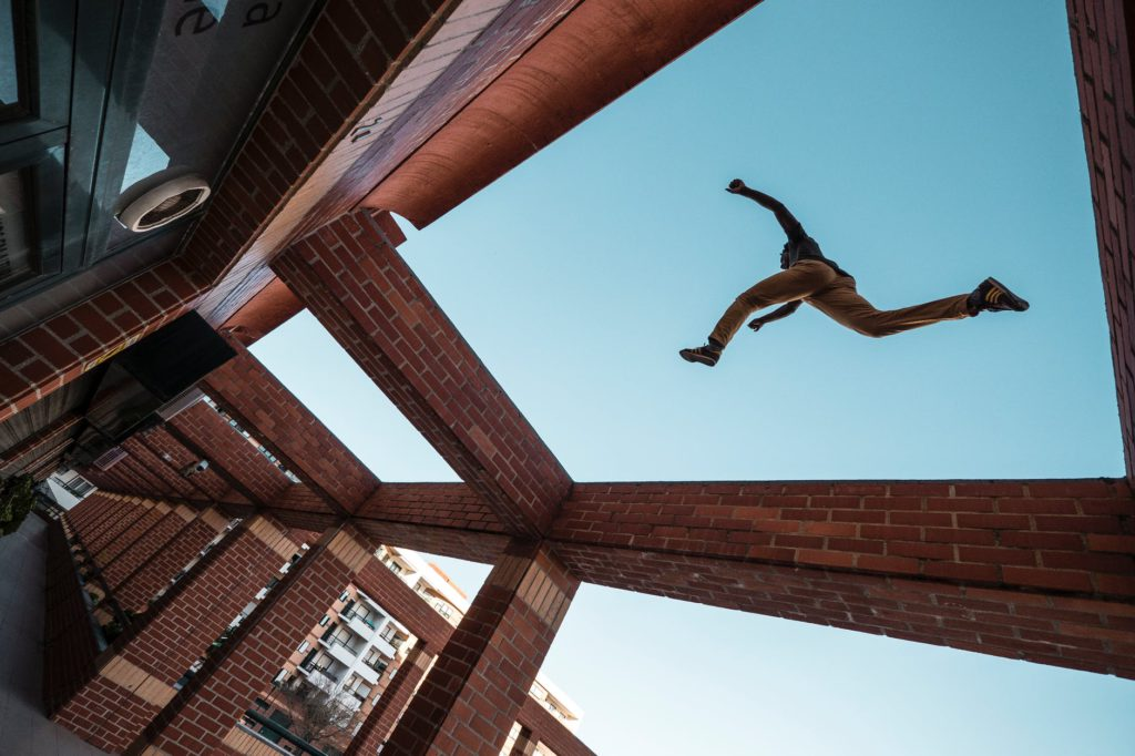 Extreme sports comparison Parkour vs Freerunning pexels royalty free image