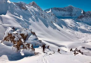 Guided ski touring in Val d'Isere: Parc de la Vanoise ski tour