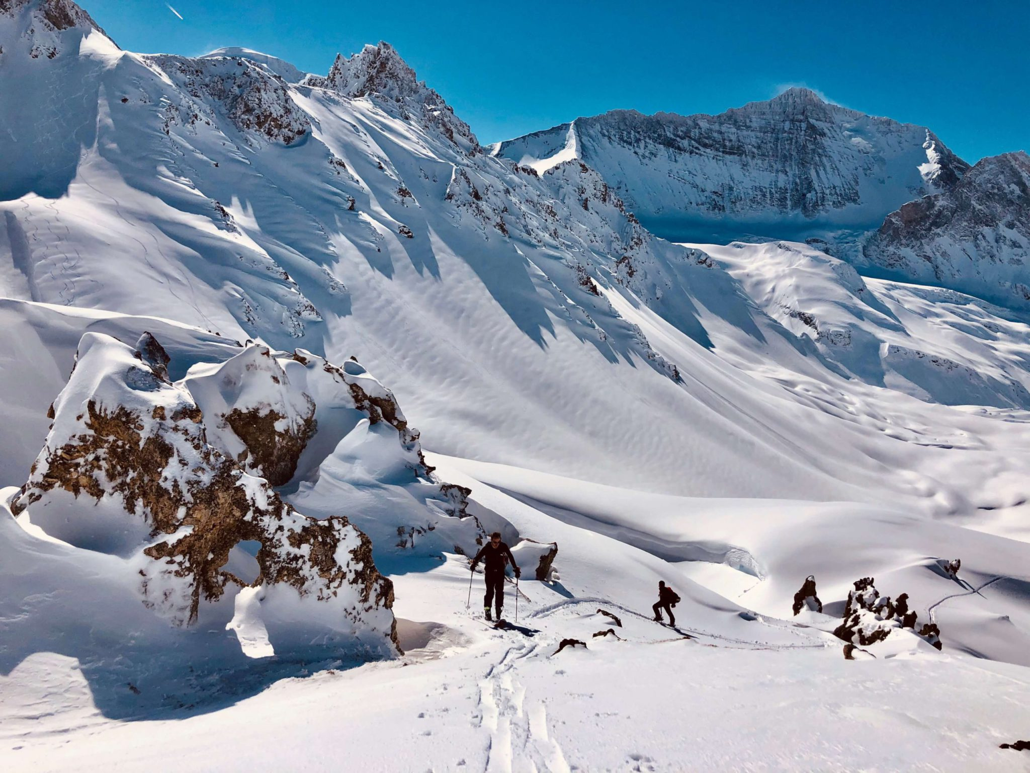 Val d'Isère ski touring lessons in France: Learn to ski tour