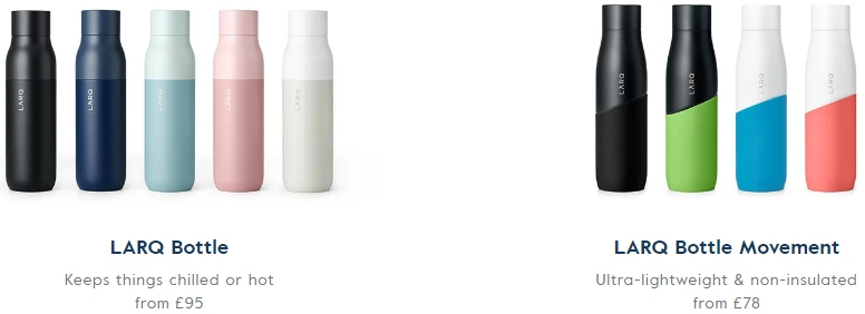 Review of LARQ self cleaning bottle