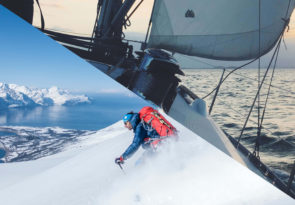 Bodø Alps sailing and ski touring holiday in Norway