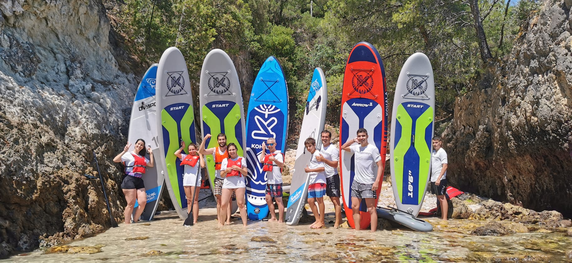 Arrábida Stand Up Paddleboard experience: Setubal SUP in Portugal