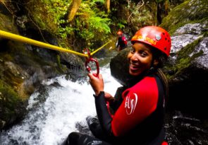 Lake District canyoning in Keswick